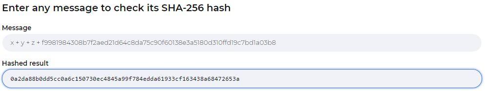 SHA-256 Cryptographic Hashing Example II linking blocks