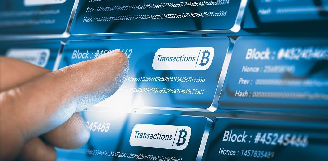 Understanding blockchain principles: transactions are bundled in a block. Blocks are bundled in a chain